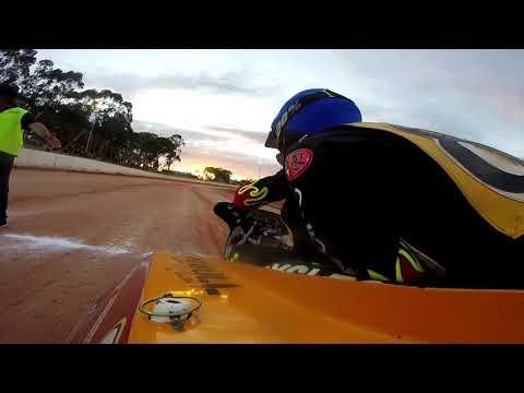 Jeff and Daniel bishop. - dirt track racing video image
