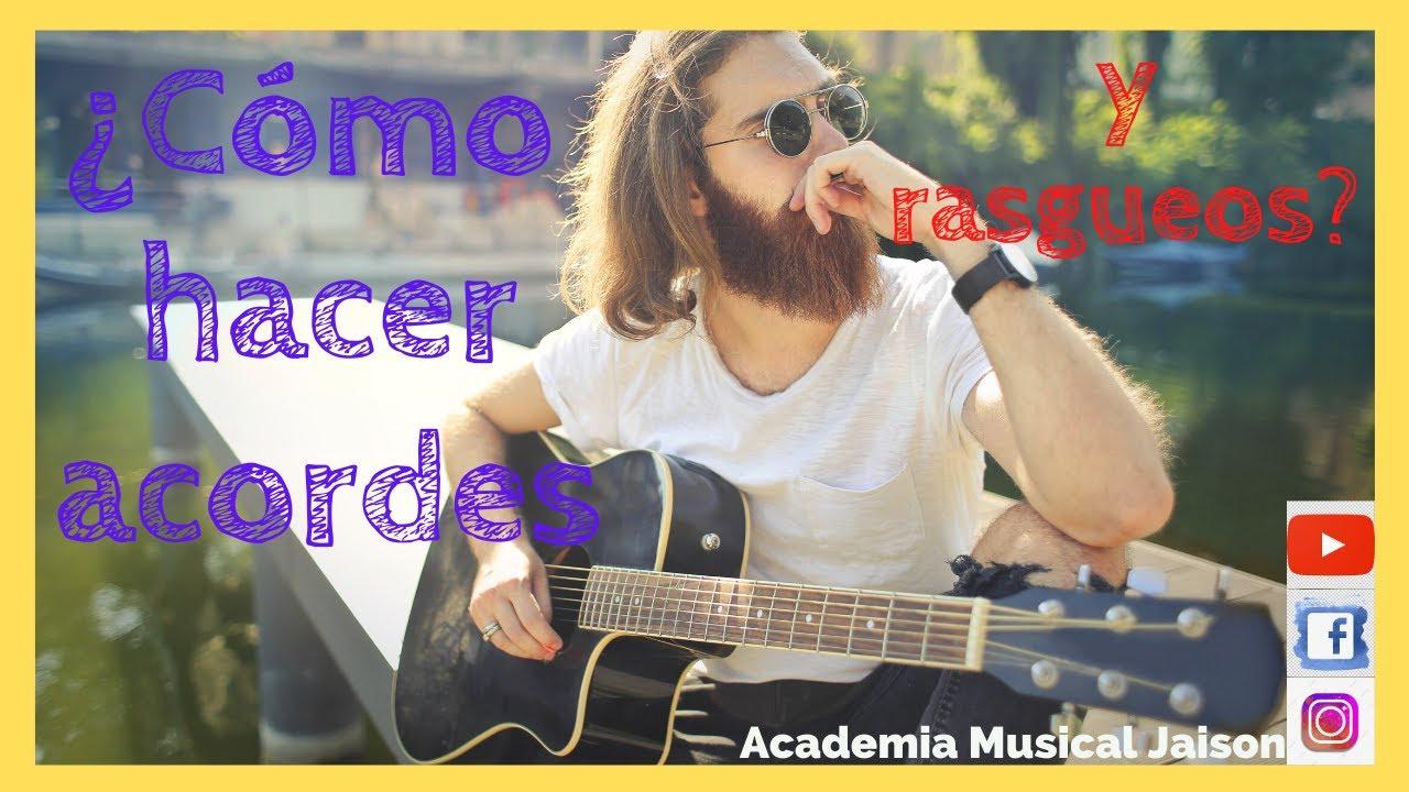 Tutorial guitarra, clase #3, acordes completos y fáciles, canciones famosas  y rasgueos. Jaison