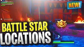 WEEK 3 SECRET BATTLE STAR LOCATION GUIDE! Fortnite SEASON 8 WEEK 3 CHALLENGES