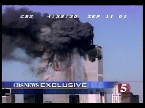 9/11/01 CBS 5 p.m. hour coverage part 4/6