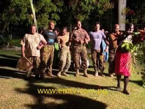 Fiji Community Helps PNG Defence Force