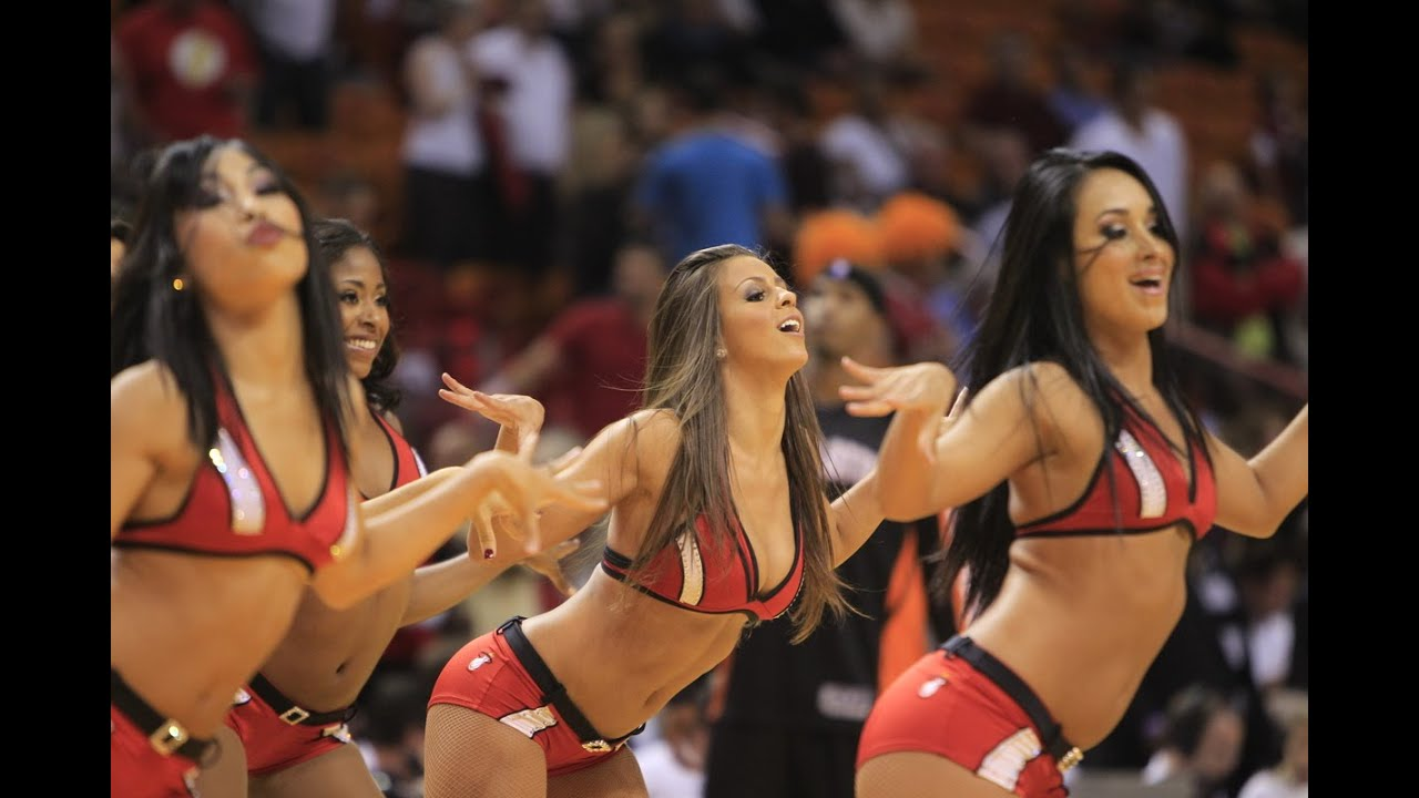miami heat dancers nba, cheerleaders - youtube