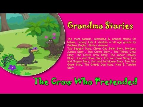 Peacock & Crow | Grandma Stories Gujarati For Kids HD | Dadimaa Ni Varta | Gujarati Stories
