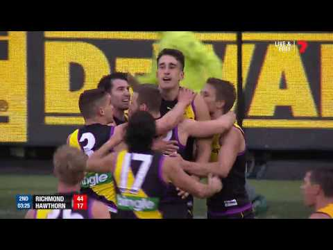 Round 20 AFL - Richmond v Hawthorn Highlights