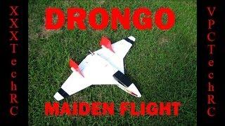 Drongo Maiden Flight 8/4/13 - Rc Airplane Foam Scratch Build