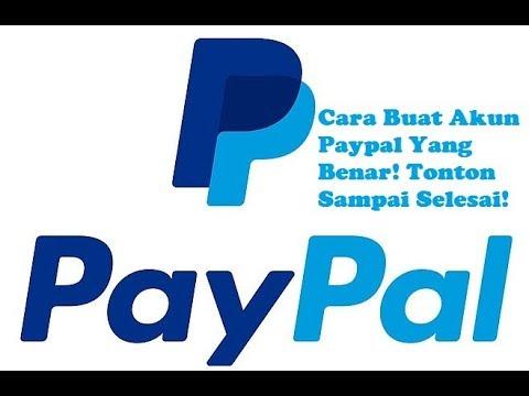 Cara Buat Akun PayPal Yang Benar Terbaru!