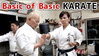 Minoru Higa's practice #2 | Basic of Basic | 比嘉稔先生 | 小林流究道館|初心者向け沖縄伝統空手