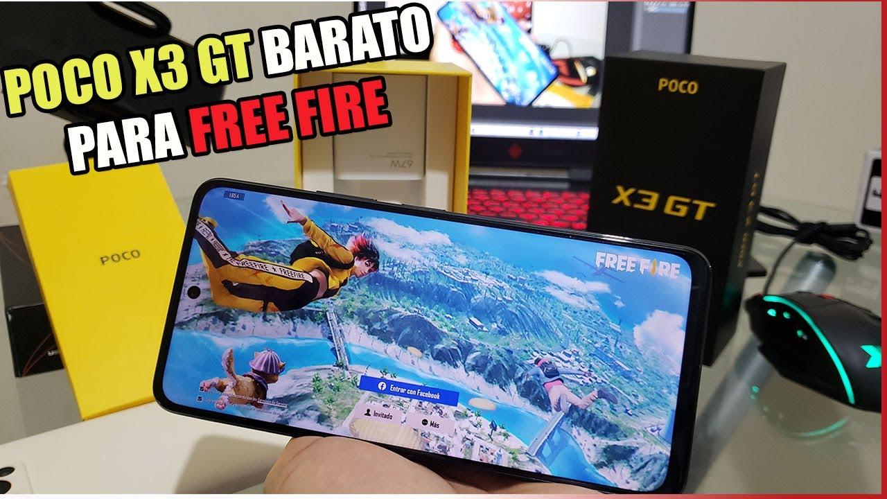 COMPRÉ UN POCO X3 GT USADO PARA FREE FIRE TEST RAPIDO PRIMERAS IMPRESIONES POCO X3 GT EN FREE FIRE
