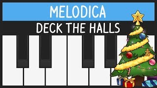 Deck the Halls - Melodica Tutorial - Christmas Songs
