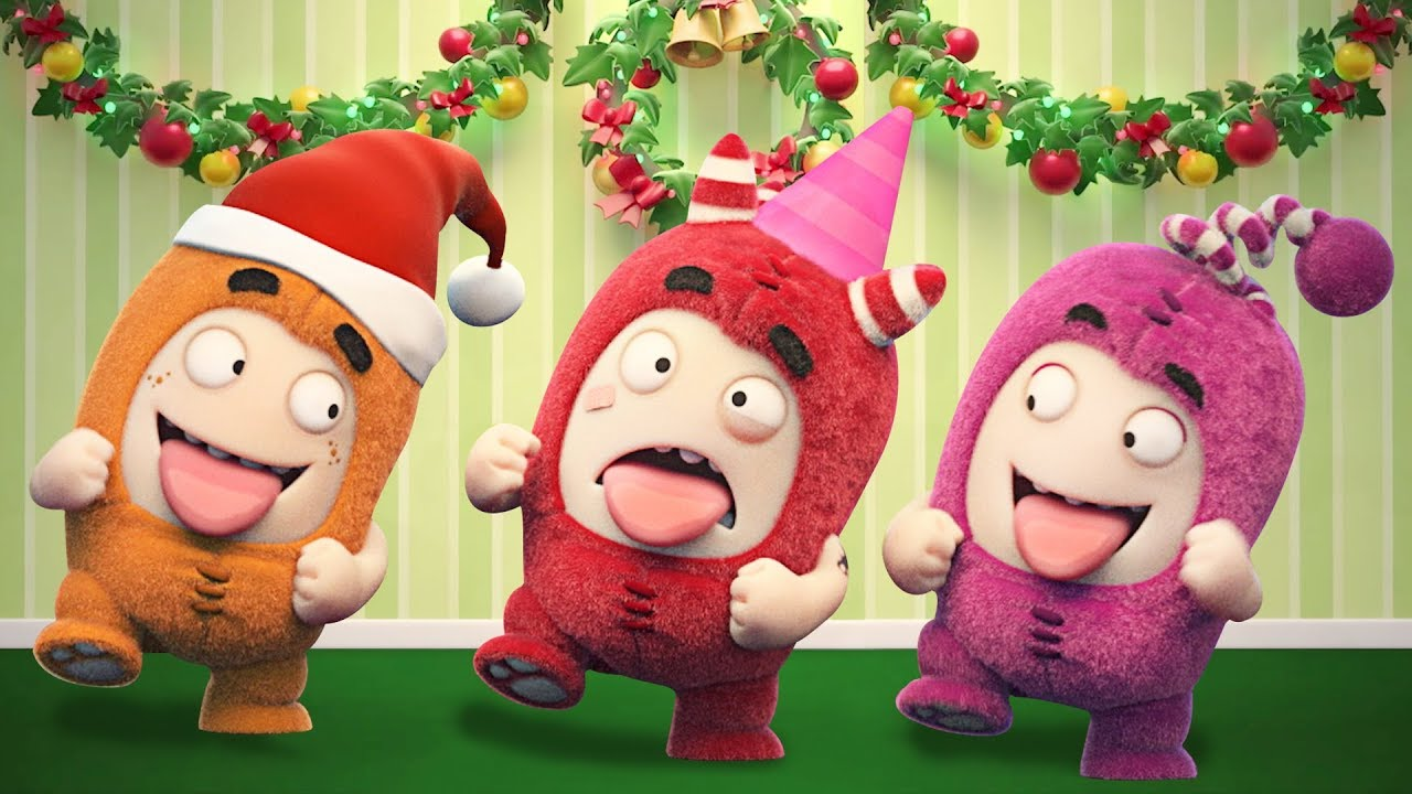 Oddbods NEW Episodes - CHRISTMAS PARTY | The Oddbods Show