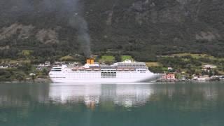Costa neoRomantica Olden,Norway 23.08 2014