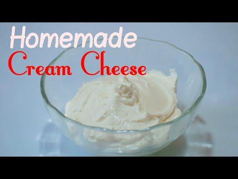 4 Ingredient Cream Cheese | Homemade Cream Cheese | How To Make Cream Cheese | Perfect Cream Cheese