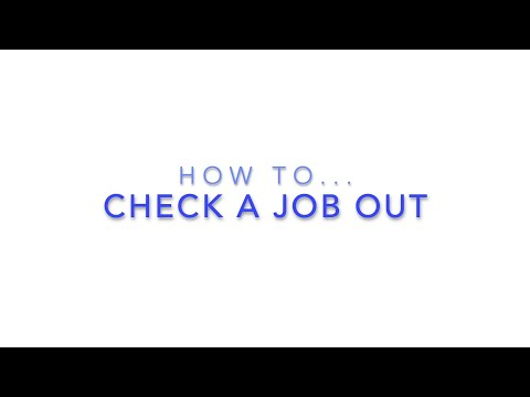 Check A Job Out - HireHop Equipment Rental Software