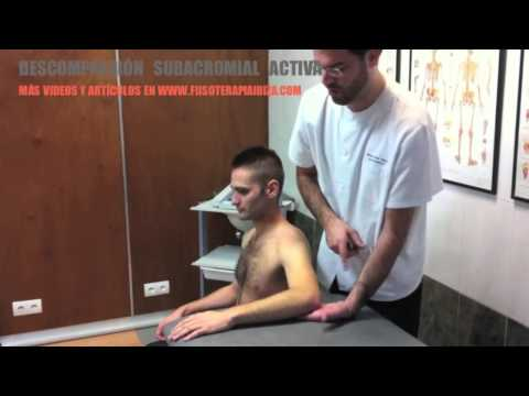 Ejercicio para dolor del hombro - descompresión subacromial - tendinitis manguito rotador