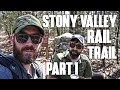 Appalachian Trail: Stony Valley Rail-Trail Overnight Backpacking Trip Part 1