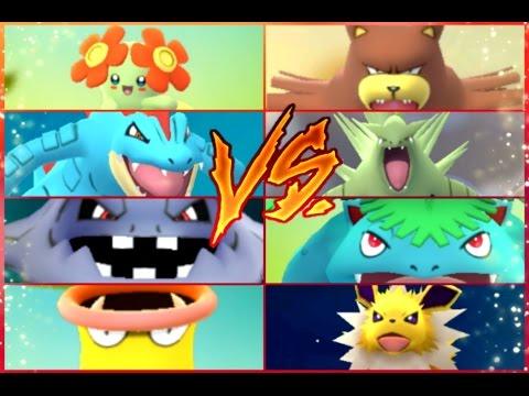 Pokémon GO Gym Battles Level 9 Gym Feraligatr Tyranitar Steelix Hitmonchan Bellossom Venusaur & more