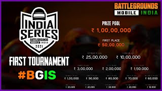 Battlegrounds Mobile India First Ever Tournament For All    1Crore Prize Pool    #BGIS