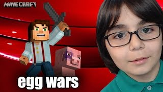 MİNECRAFT USTAM İLE SAVAŞMAK !!!- MİNECRAFT EGG WARS