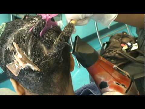 Dominican Hair Salon By Massiel - Brazilian Keratin Treatment - YouTube