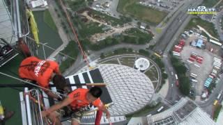 Video World's Highest Bungee Jump, Macau Tower: 764ft download MP3, 3GP, MP4, WEBM, AVI, FLV Juli 2018
