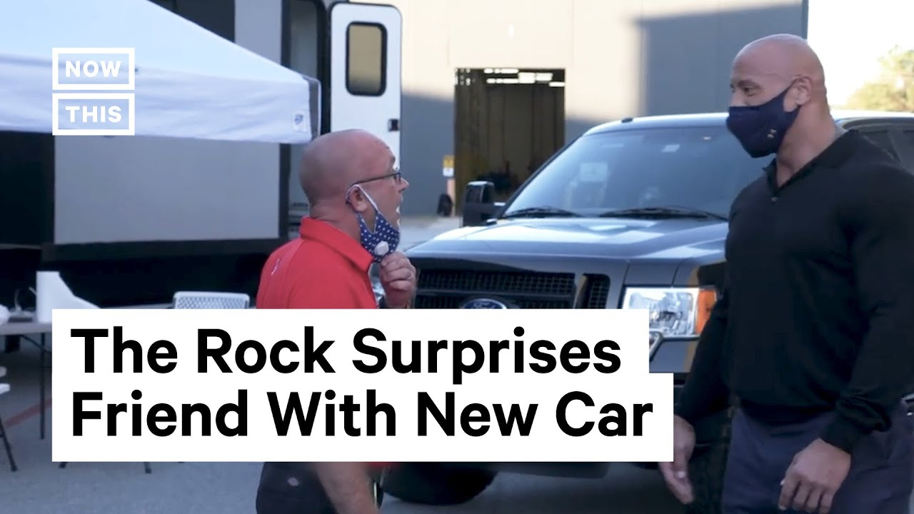 Dwayne 'The Rock' Johnson Gifts Car to Lifelong Friend | NowThis