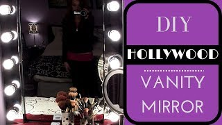 Diy: Build Your Own Hollywood Vanity Mirror! Easy & Affordable