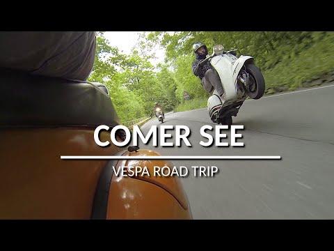 MRP Vespa Tour / Road Trip Germany - Lago Di Como Italy - Vespa Wheely, Vespatuning