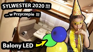 SYLWESTER w Przyczepie Kempingowej !!! - Witamy 2020 ROK w Hiszpanii !!! ( Vlog #385)