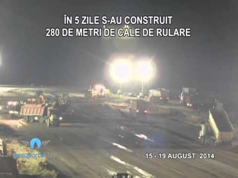 IASI Airport time lapse taxiway construction