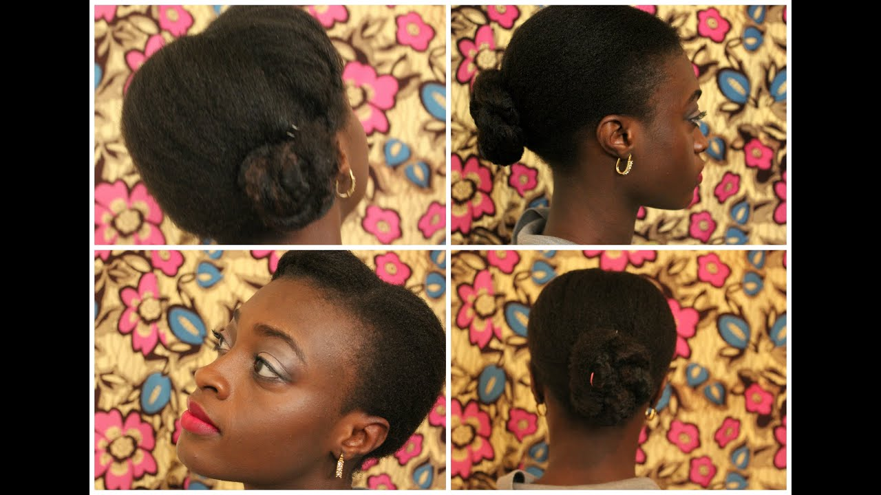 tutoriel coiffure f te cheveux cr pus 4c fins youtube. Black Bedroom Furniture Sets. Home Design Ideas