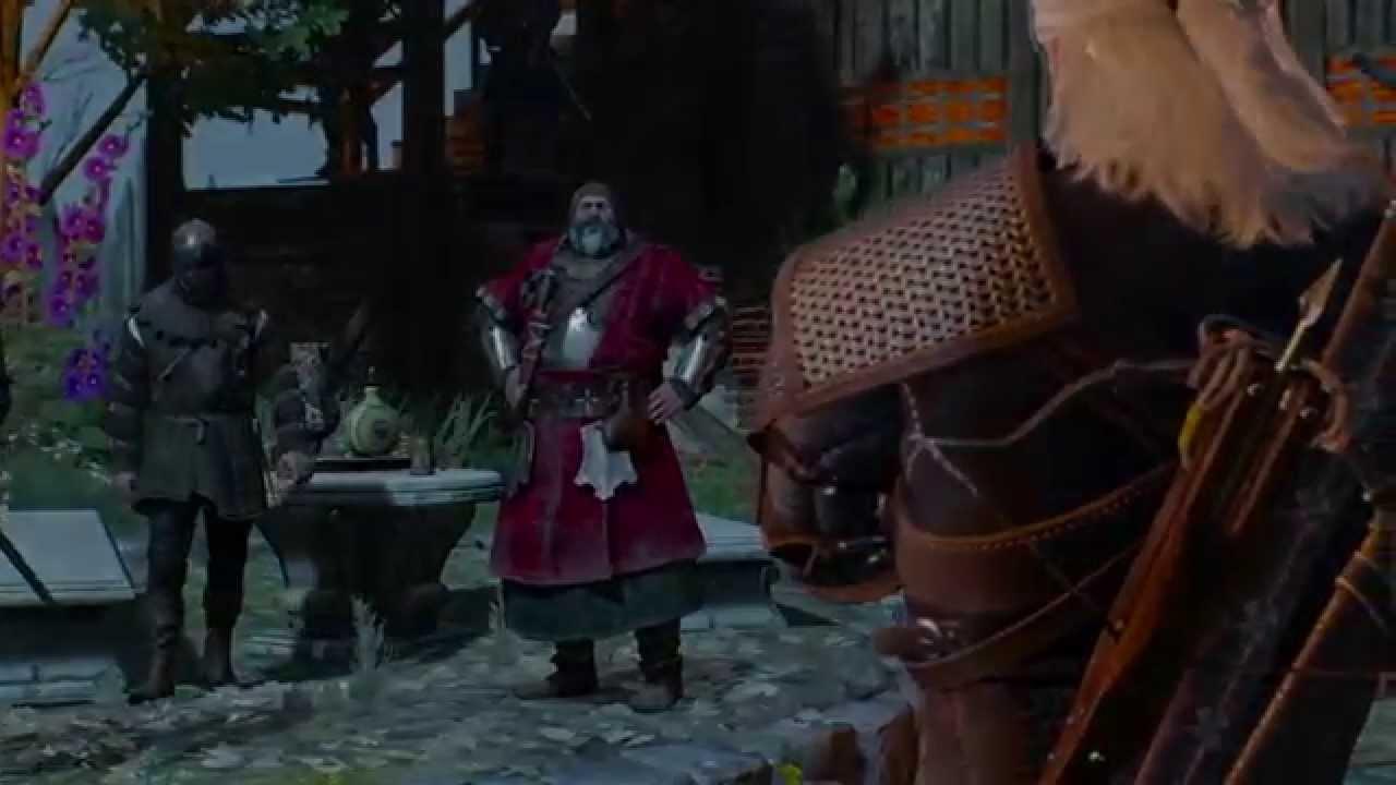 The Witcher 3: colándome en el castillo del Baron