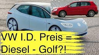 VW I.D. massentauglich so teuer wie ein Diesel-Golf BMW i3 mit 700 km Reichweite Audis Ladestrategie