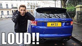 Anti-Social Range Rover Svr Exhaust Upgrade!!