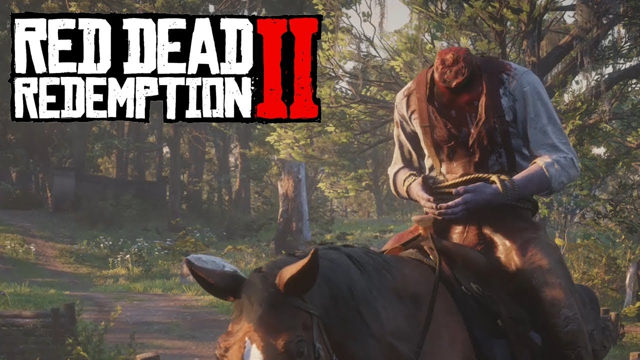 RED DEAD REDEMPTION 2 All Deaths - All Main Campaign Deaths (RDR 2 All  Death Scenes)