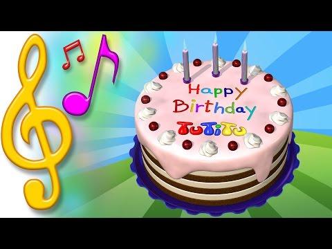Piosenki Po Angielsku Dla Dzieci | Tort Urodzinowy | Nauka Angielskiego Dla Dzieci