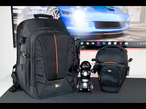 Case Logic Backpack (DCB-309) and SLR Zoom Camera Holster (SLRC-201) Review