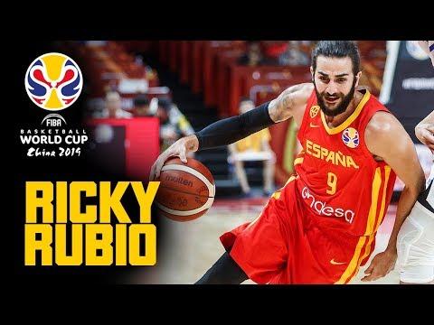 Ricky Rubio | FULL HIGHLIGHTS - First Round | FIBA Basketball World Cup 2019