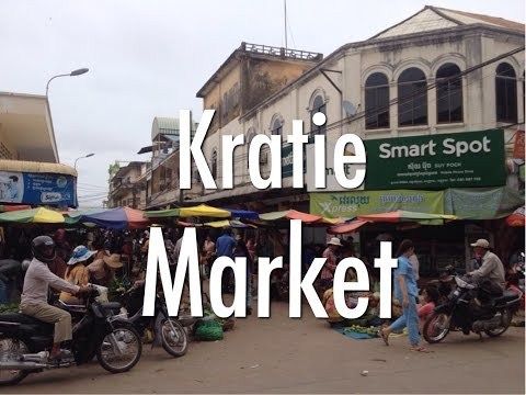 Kratie Market, Cambodia.
