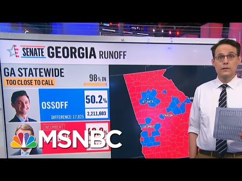GA Election Official Predicts Ossoff May Gain Lead Outside Of Recount Percentage   Hallie Jackson