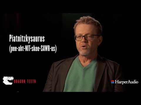 Dragon Teeth by Michael Crichton Narrator Scott Brick Dinosaur Pronunciation Video