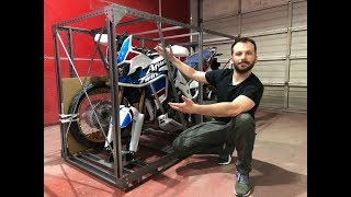 New AFRICA TWIN Adventure Sports Unboxing & Start-up