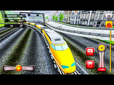 Euro Train Driving - Android Gameplay FHD