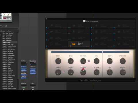 logic x drum machine