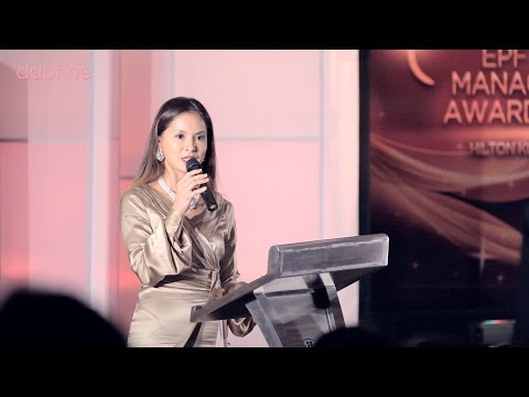 Daphne Iking Emcee showreel - corporate/award event