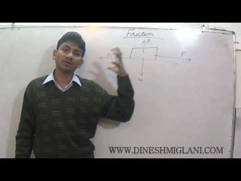 FRICTION & CIRCULAR  FLOW OF MOTION PHYSICS 11 FOR IIT JEE B