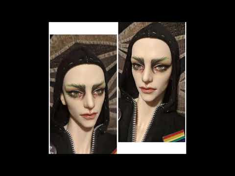 NineFtUnder - BJD Doll Faceup's,Piercings and Tattoo's