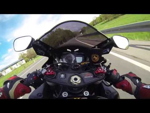 Suzuki GSX-R 1000 K5 K6 Akrapovic Hexagonal BMC Filter Sound