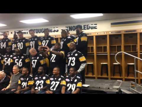 Pittsburgh Steelers From Super Bowl XL Team Reunite For Alumni Day