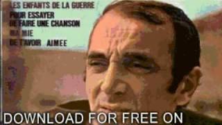 charles aznavour - Les Bateaux Sont Partis Feat  - Duos
