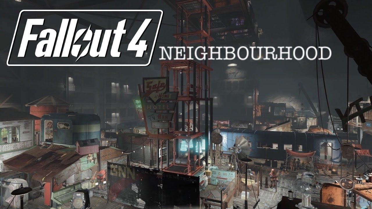 Fallout 4 - 'Neighbourhood' - Vault 88, Underground City (PS4)